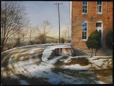 "My college art teacher! He is amazing!  ""The First of March"" by Matthew Daub"