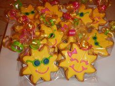 sun cookie favors by Mercibeaucookies.blogspot.com