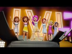 LEGO Friends Karaoke Version - Music Video - Girlz - YouTube