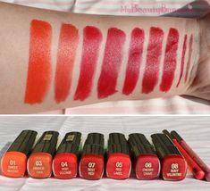 Milani Pink and Orange Lips , Orange Lipstick Makeup, Red Lipstick Shades, Lipstick For Fair Skin, Lipstick Art, How To Apply Lipstick, Red Lipsticks, Lip Makeup, Milani Color Statement Lipstick, Maybelline Lipstick