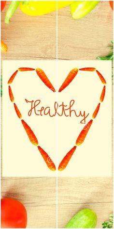 Healthy Word Inside An Abstract Heart Made Of Carrots Stock Image - Image of concept, alphabet: 179413439 Carrots Healthy, Delicious Dinner Recipes, Yummy Food, Healthy Words, Alphabet, Banner, Concept, Posts, Stock Photos