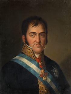Fernando VII, por Luis de la Cruz y Ríos, 1825 (Museo del Prado)