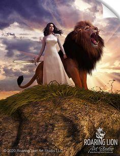 Lion Pictures, Jesus Pictures, Aslan Narnia, Christian Warrior, Christian Artwork, Bride Of Christ, Prophetic Art, Jesus Art, Biblical Art