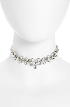 Shinhwa Floral Crystal Choker available at #Nordstrom