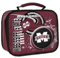 NCAA Mississippi State University Accelerator Insulated Lunch Box