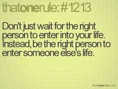 rule #1213