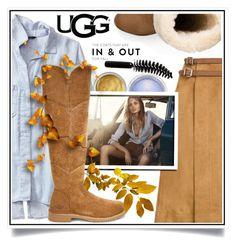 """The New Classics With UGG: Contest Entry"" by ewa-naukowicz-wojcik ❤ liked on Polyvore featuring Banana Republic, 10 Crosby Derek Lam, MAC Cosmetics, Hunkydory, UGG, LORAC and ugg"