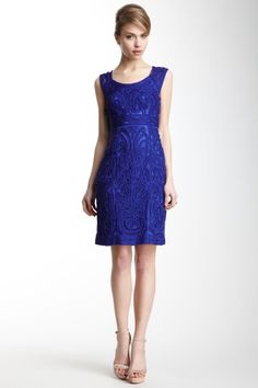 Sue Wong Embroidered Short Dress by Give It A Twirl on @HauteLook