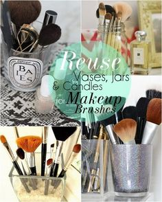 10 DIY Makeup Storage