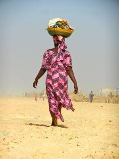 Dakar, Senegal, walking