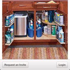 storage space small kitchen - Google Search