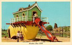 Wooden Shoe Slide in Holland