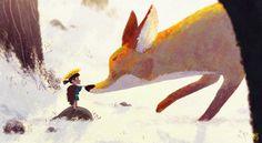 Prince of Sunflower - super #cute #illustration #art by Gop Gap
