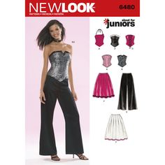 """juniors corset top, pants and skirt<br/><br/><img   src=""""skins/skin_1/images/icon-printer.gif"""" alt=""""printable pattern"""" /> <a href=""""#"""" onclick=""""toggle_visibility  ('foo');"""">printable pattern terms of sale</a><div id=""""foo"""" style=""""display:none;"""">digital patterns are tiled and   labeled so you can print and assemble in the comfort of your home. plus, digital patterns incur no shipping costs! upon   purchasing a digital pattern, you will receive an email with a link to the…"""