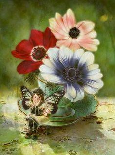 Miharu Yokota fairy painting