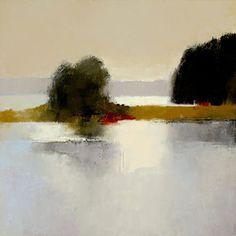 Irma Cerese, Cobscook Bay #5. 18 x 18 - acrylic.