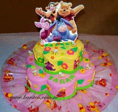 Torta de Winnie Pooh