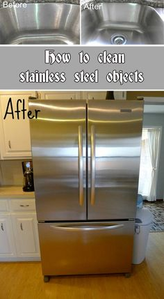 How To Clean Stainless Steel Objects