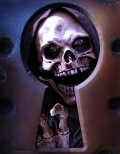 Could be a really cool tattoo! #bikertattoo #ChopperExchange #skull