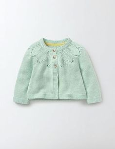 #Baby Cosy Cardigan Azure Mist Baby Boden, Azure Mist #Our supersoft cardigan will keep baby warm and comfortable all day. A range of pretty shades will add a pop of colour to every outfit, and weve also added link stitch detailing around the collar, just for fun. Its fully machine washable, too.