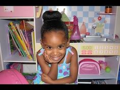 How To Style The Perfect Bun-Hawk For All Carol's Daughter Kids! - YouTube
