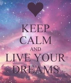 Dream Quotes | Keep Calm and Live Your Dreams   From Inspiring Quotes - Positive Quotes on Google+ #dreams   #keepcalm