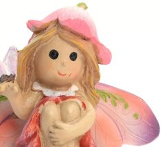 """Fairy - with Butterfly  -  1 3/4"""" Tall - 207-6182"""