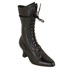 Black Wedding Boots.