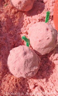 Apple Cloud Dough Recipe ~ Growing A Jeweled Rose