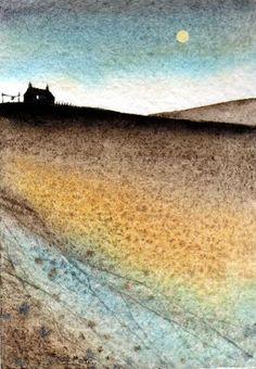ARTFINDER: Flow by JULIE MORRIS - Moonlight colours.