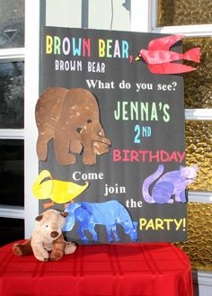 Invite and Delight: Brown Bear Brown Bear Birthday