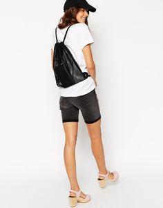 Изображение 4 из Сетчатый рюкзак на шнуровке ASOS