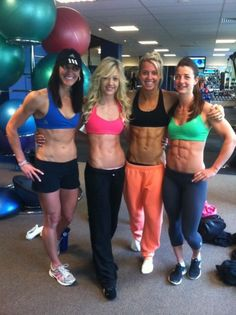 It's hard to find fitness female friends!