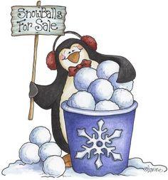 http://media-cache-ec0.pinimg.com/736x/5b/4a/eb/5b4aebc9b01ae83c6fa42dd269c77031.jpg - Penguin - snow balls for sale