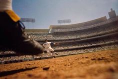 No words to describe this photo of the great Maury Wills in action.  Simply beautiful