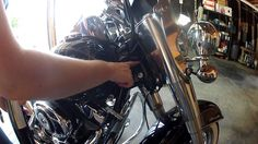 How To Lubricate Steering Head Bearings on a 2013 Harley Softail Deluxe