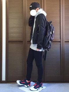 daiさんの「Stock Lock HO15 Cap(STUSSY)」を使ったコーディネート Fashion Pants, Boy Fashion, High Fashion, Mens Fashion, Fashion Outfits, Korean Fashion Kpop, Aesthetic Fashion, Japanese Fashion, My Outfit