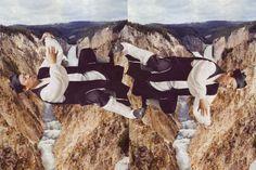 balance, collage on illustration board