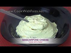 MASCARPONE CHEESE *COOK WITH FAIZA*