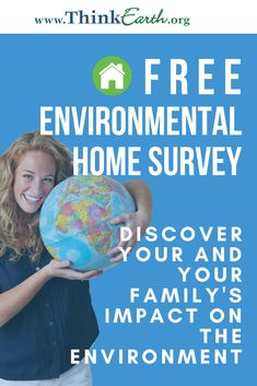 In the HOME SURVEY, you will discover your and your family's impact on the environment by investigating: your habits and behaviors (e., taking short showers) your household conditions (e., type of light bulbs). Earth Day Activities, Science Activities For Kids, Hands On Activities, Education World, Science Education, Outdoor Education, Help The Environment, Environmental Education, Educational Videos