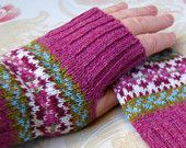 More beautiful gloves from Helen Gray.