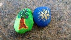Paintings on stones
