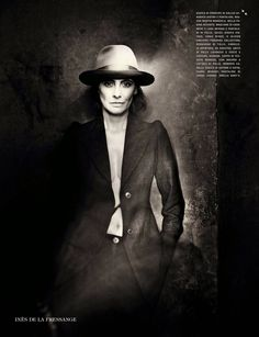 #InesDeLaFressange by #PaoloRoversi for #VogueItalia September 2014