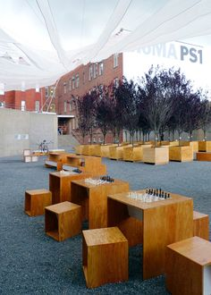 interboro partners: holding pattern for MoMA PS1 - now complete