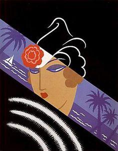 Art Deco poster, ca. 1930s