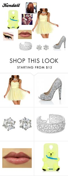 """Kendall's Dress Chapter 5"" by lyric-denali ❤ liked on Polyvore featuring Quiz, Juicy Couture, Jon Richard, Moschino, women's clothing, women, female, woman, misses and juniors"
