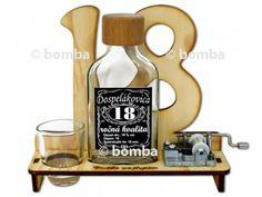 Značka na výročie 18 rokov s verklíkom je pekný a hlavne praktický darček pre každého 18-ročného oslávenca. Bottle Opener, Barware, Pump, Tumbler