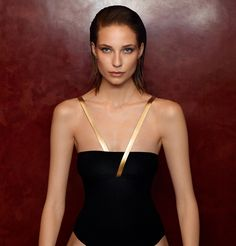The two Paris houses have come together to launch a swimwear line available only at the rue Saint-Honoré hotel.