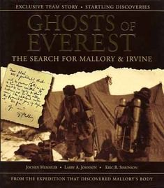 Ghosts Of Everest - The last photo of George Mallory and Sandy Irvine as they leave the Everest North Col on June 6, 1924