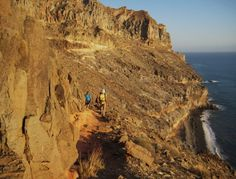 Go on hiking to Ambar Beach, in Tasarte. #Gran #Canaria.